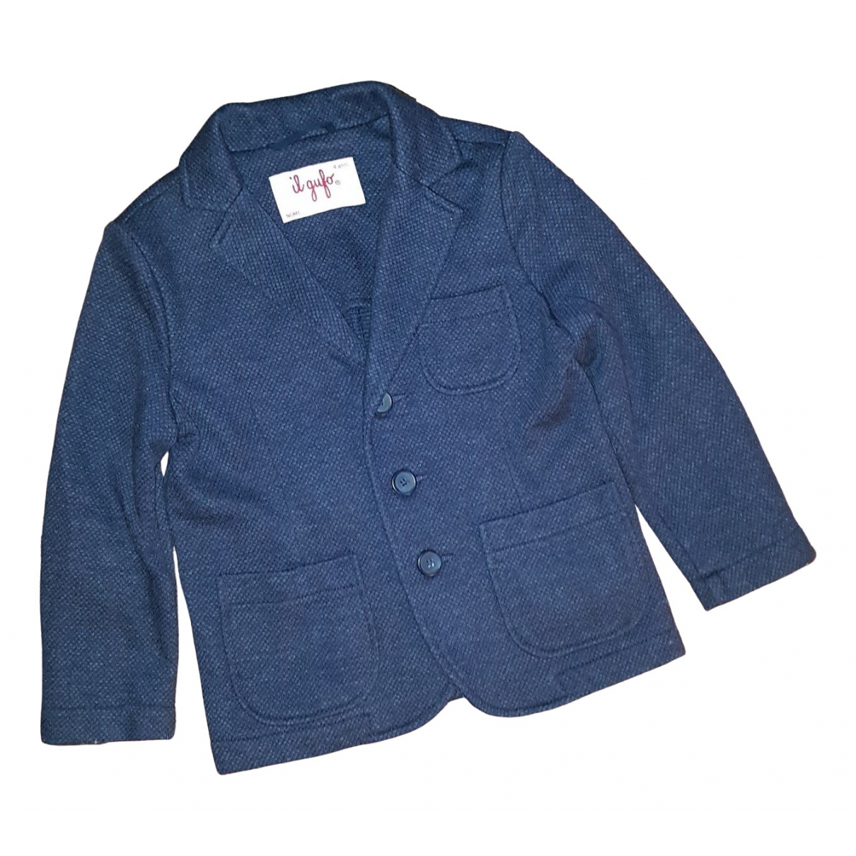 Il Gufo \N Blue Cotton jacket & coat for Kids 4 years - up to 102cm FR