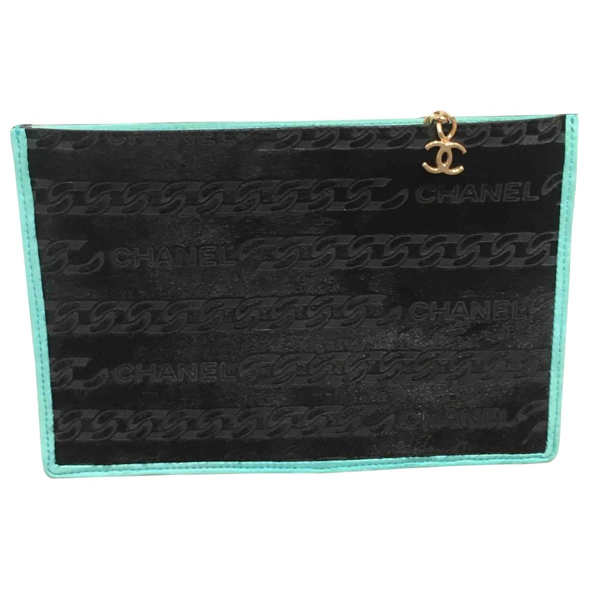 Chanel \N Black Pony-style calfskin Clutch bag for Women \N