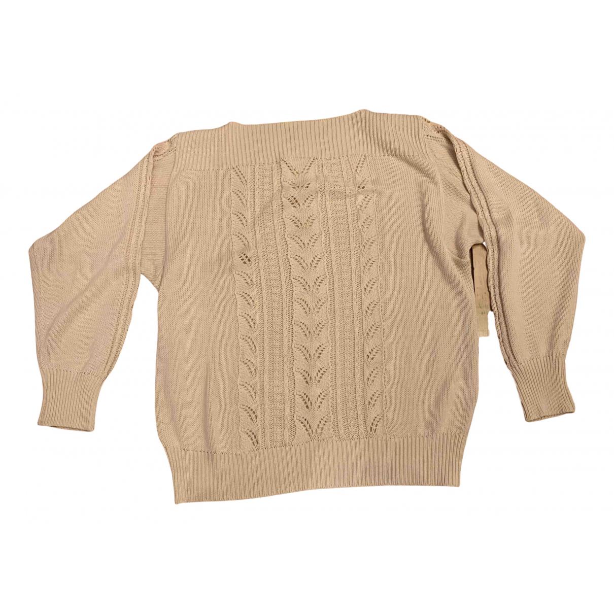 Cacharel - Pull   pour femme en coton - rose