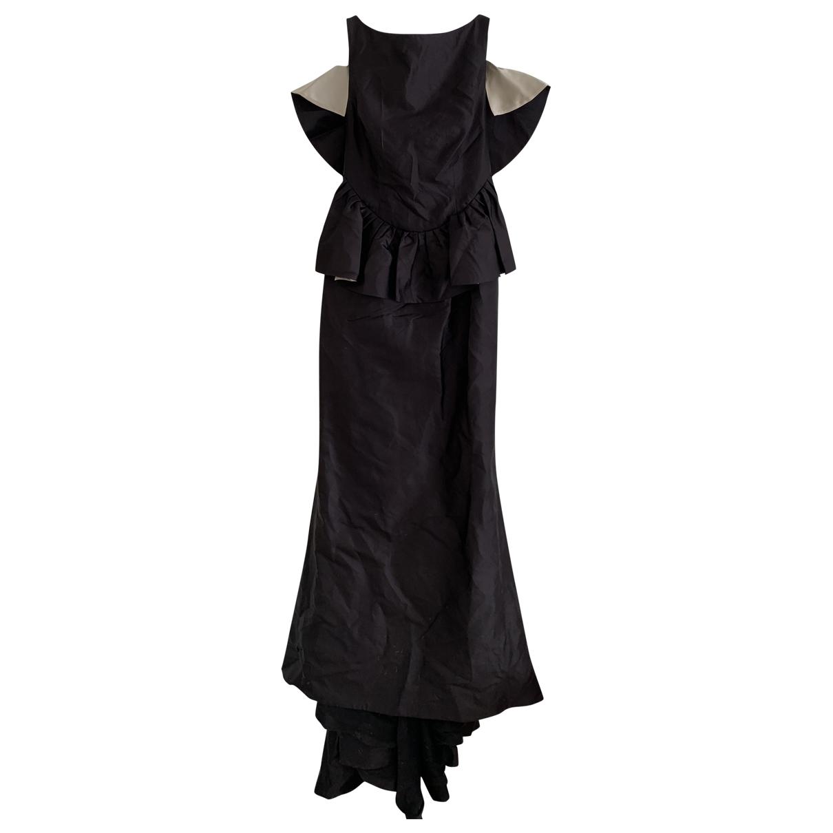 Maxi vestido de Seda Escada