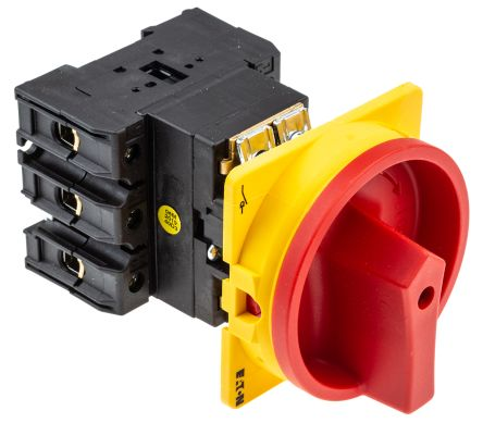 Eaton 3 Pole Enclosed Non Fused Isolator Switch - 100 A Maximum Current, 50 kW Power Rating, IP65