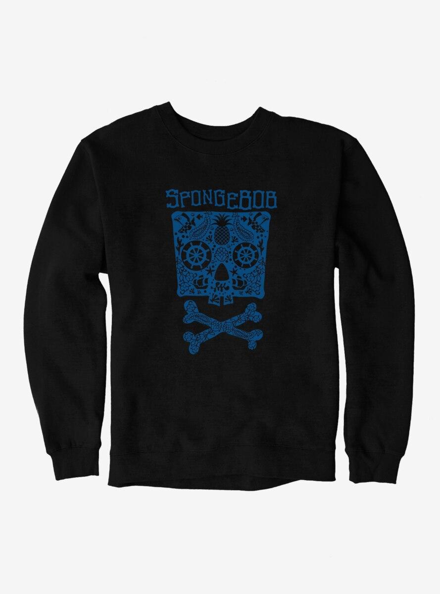 SpongeBob SquarePants Skulls And Bones SpongeBob Sweatshirt