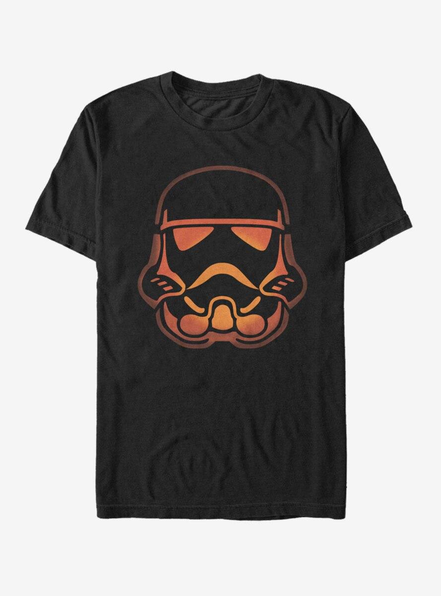 Star Wars Halloween Stormtrooper Pumpkin T-Shirt