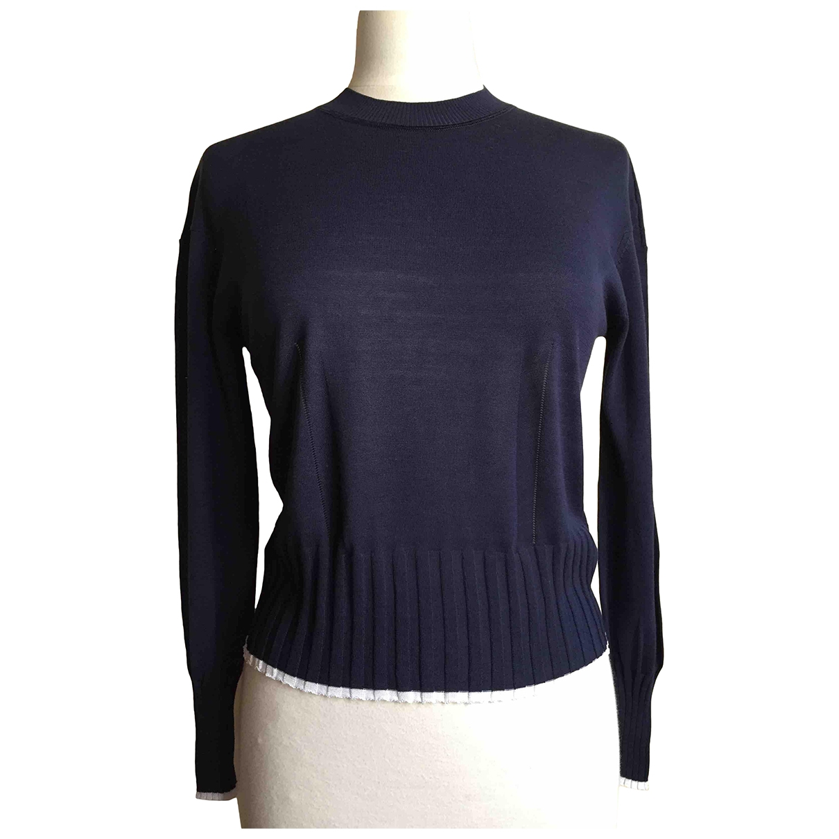 Kenzo \N Blue Silk Knitwear for Women XS International