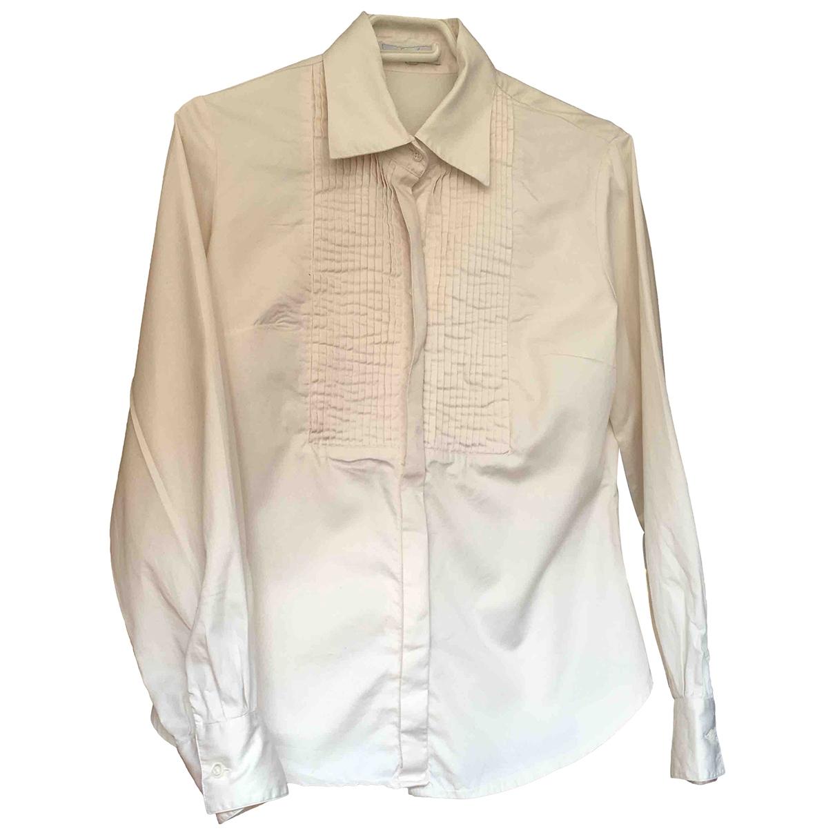 - Top   pour femme en coton - ecru
