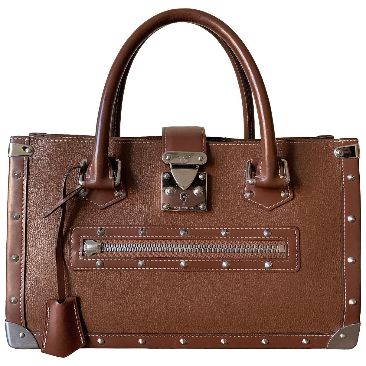 Louis Vuitton - Sac a main Le Fabuleux pour femme en cuir - marron
