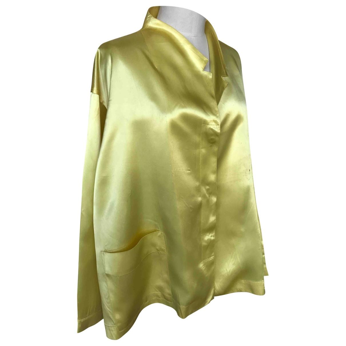 Yohji Yamamoto \N Top in  Gelb Synthetik