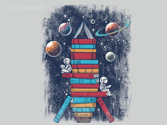 Reading Rocket Ship T Shirt
