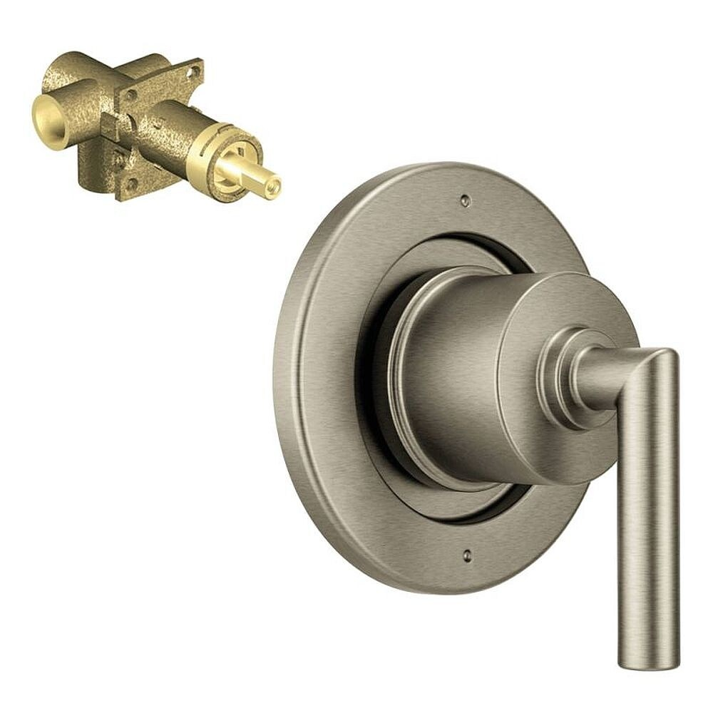 Moen Arris 3-Function Transfer Valve Trim With 1/2-In CC Rough-In - 5.69 x 5.88 x 3.88 (Brushed Nickel)