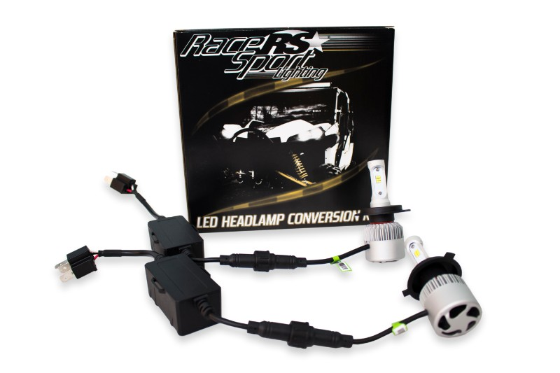 Race Sport Lighting H7LEDDS H7 Drive Series 2,100 LUX Driverless Plug-&-Play LED Headlight Kit with Canbus Decoder
