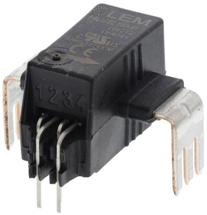 LEM HLSR Series Open Loop Current Sensor, 125A nominal current, 50A output current