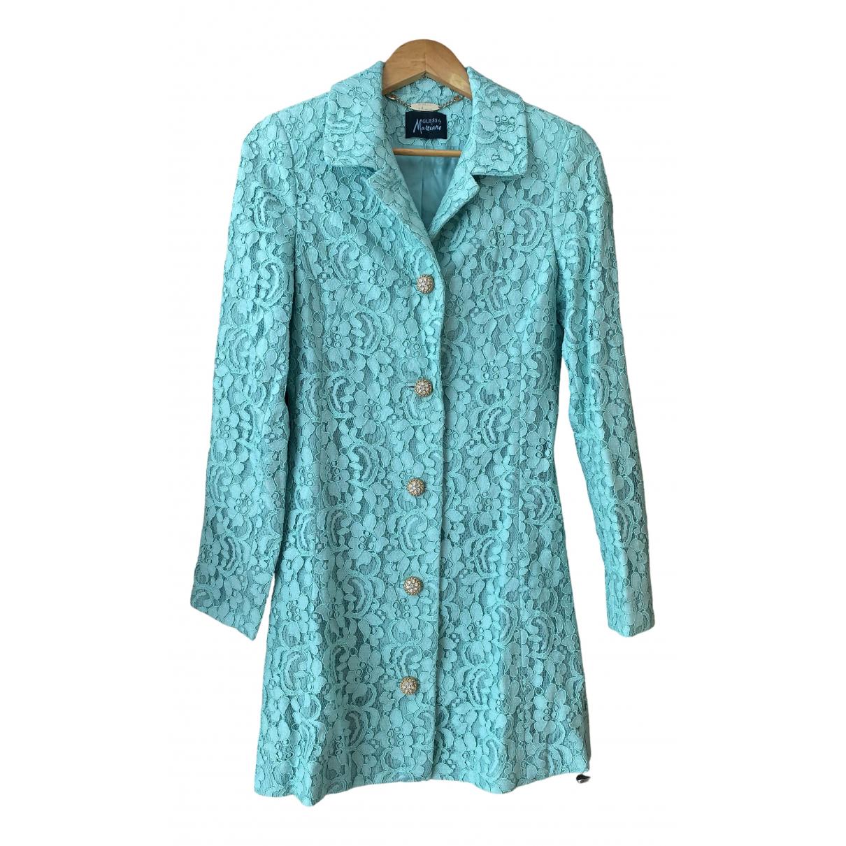 Guess - Manteau   pour femme - turquoise