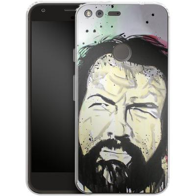 Google Pixel XL Silikon Handyhuelle - Spencer von Federica Masini