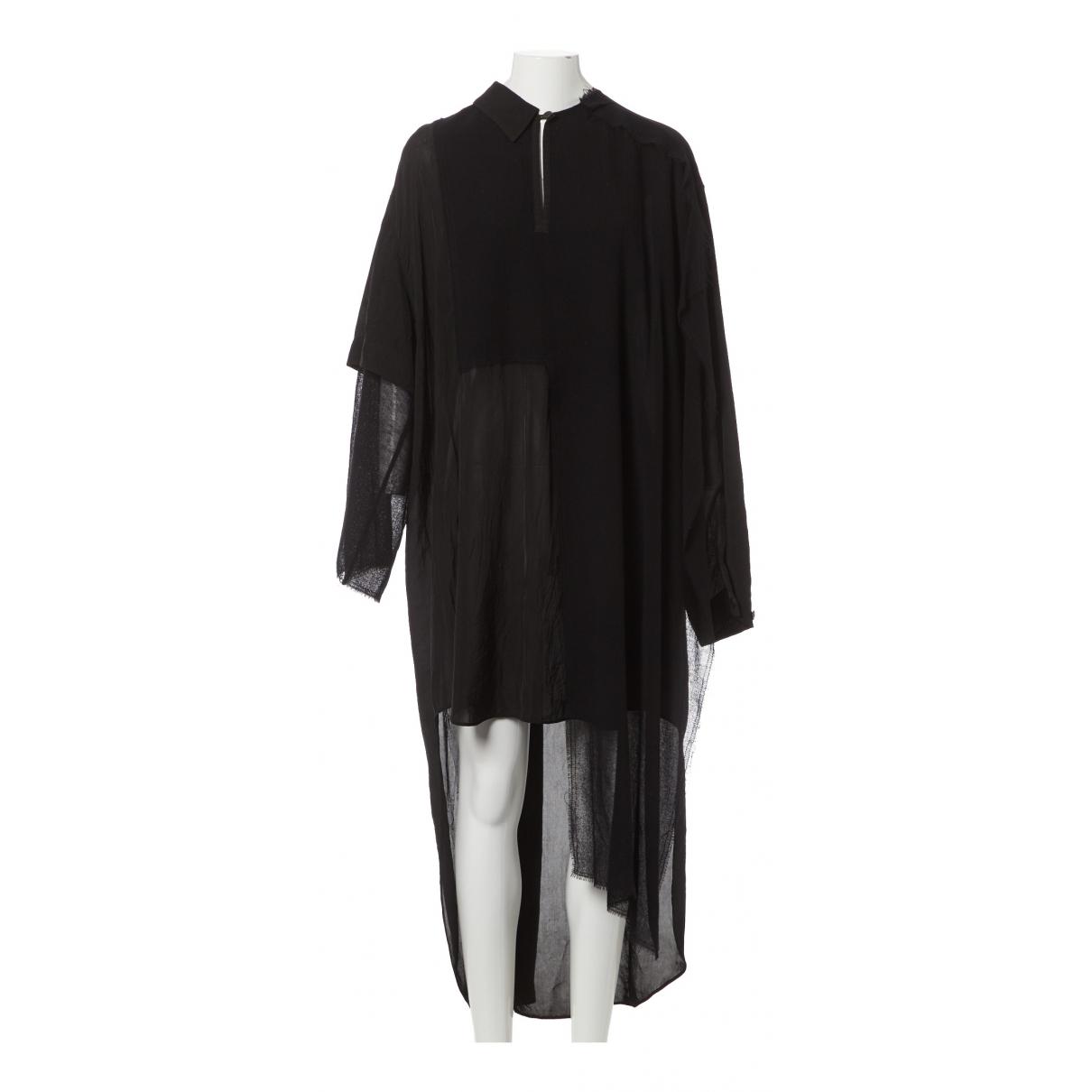 Loewe \N Kleid in  Schwarz Viskose