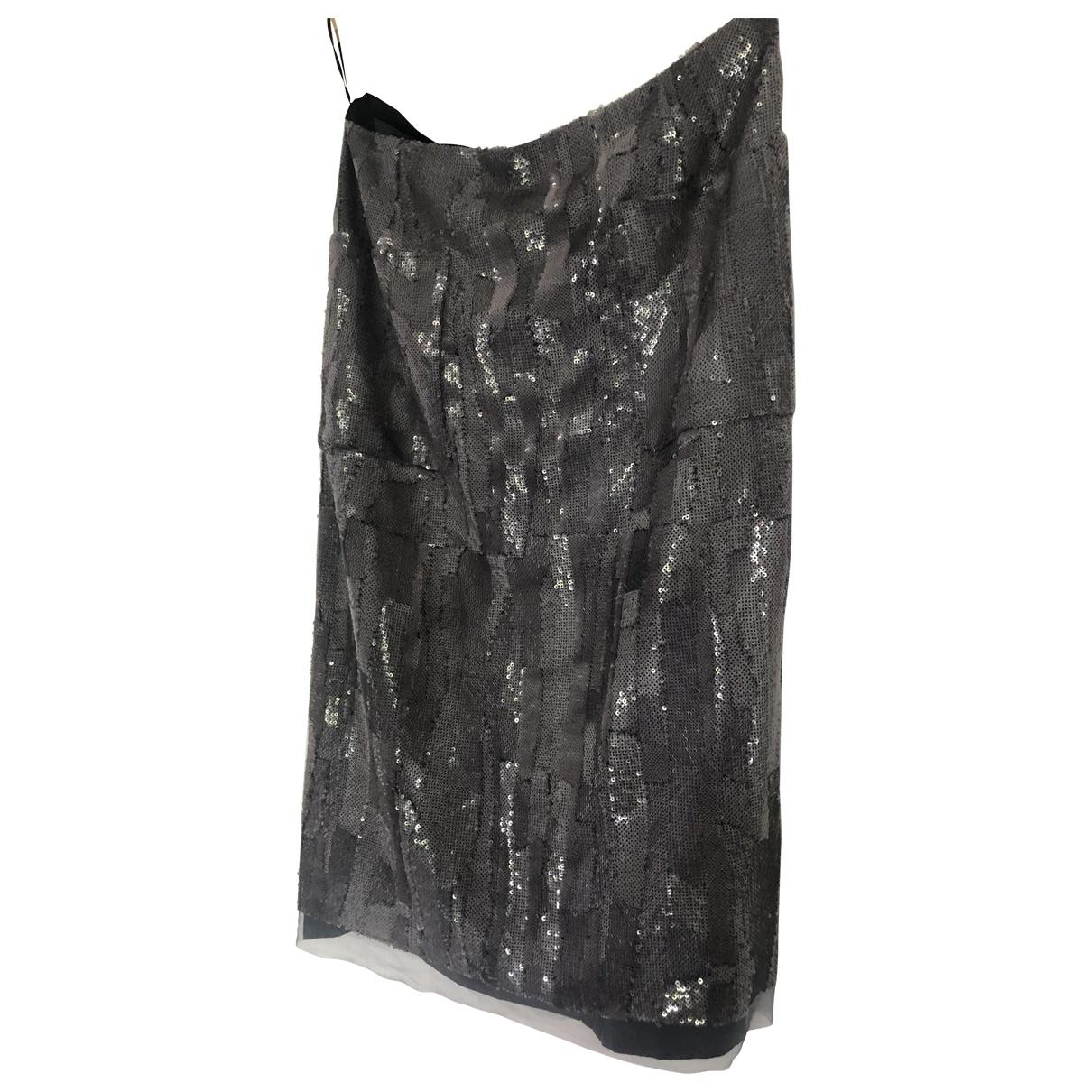 Louis Vuitton \N Grey Glitter skirt for Women 38 FR