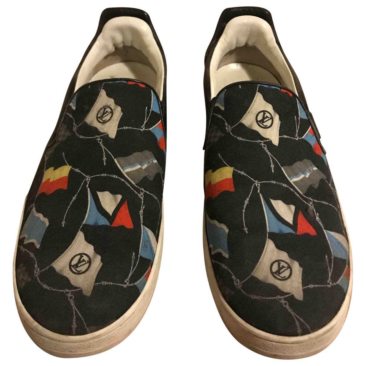 Louis Vuitton - Baskets   pour homme en toile - multicolore