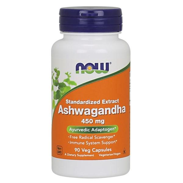 Ashwaganda 90 Veg Caps by Now Foods