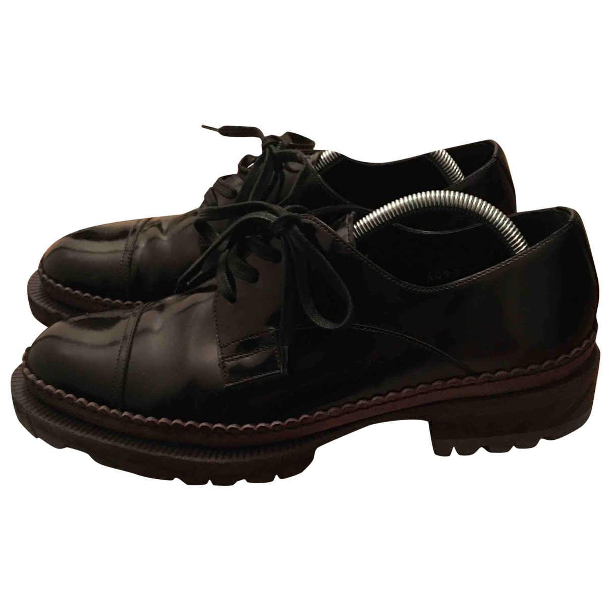 Dolce & Gabbana \N Black Patent leather Lace ups for Men 8 UK