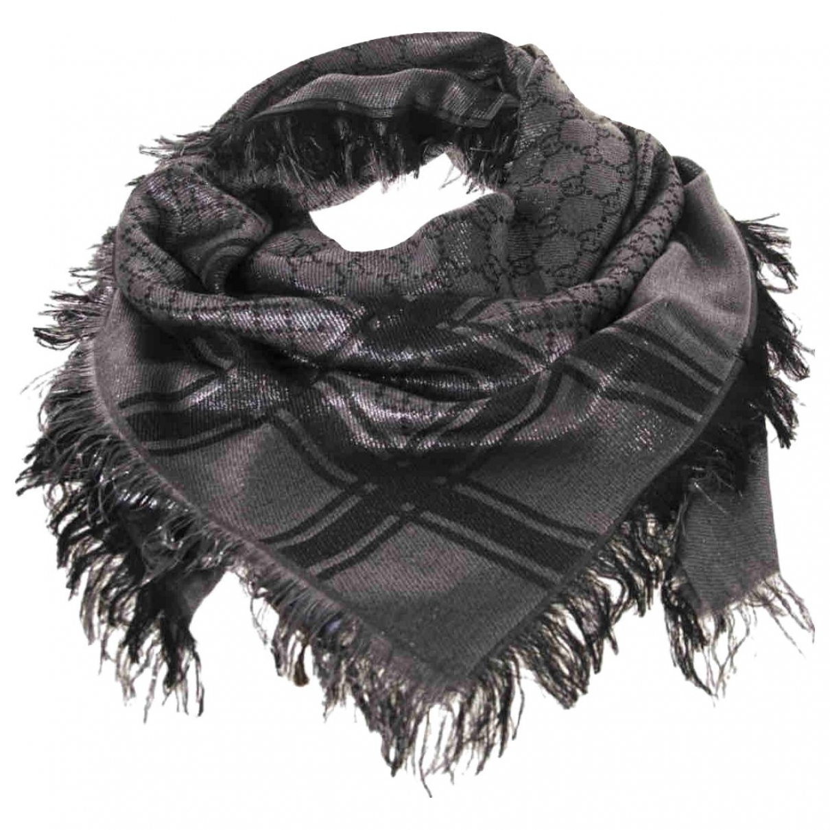 Gucci \N Silver Wool scarf for Women \N