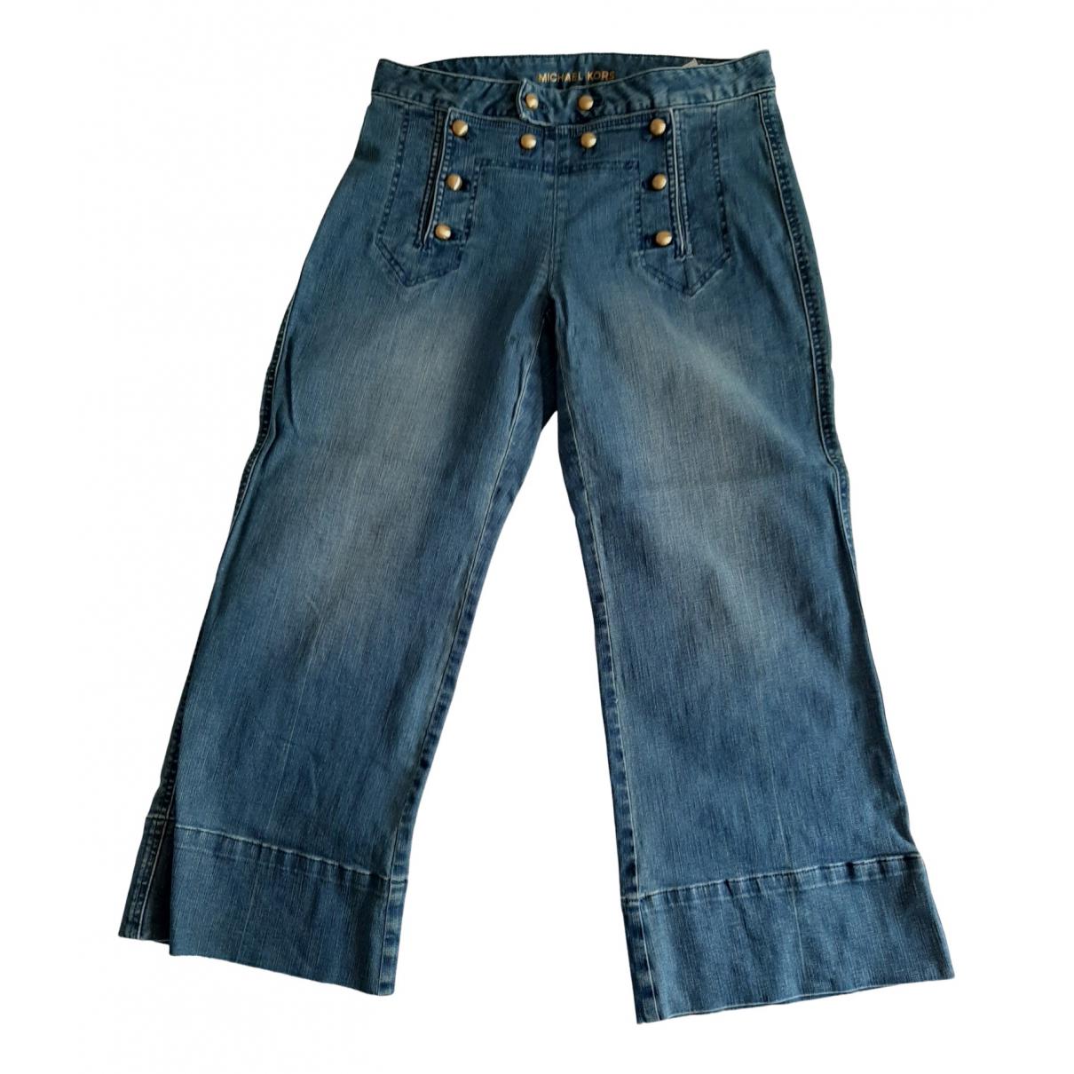 Michael Kors N Blue Cotton - elasthane Jeans for Women 28 US