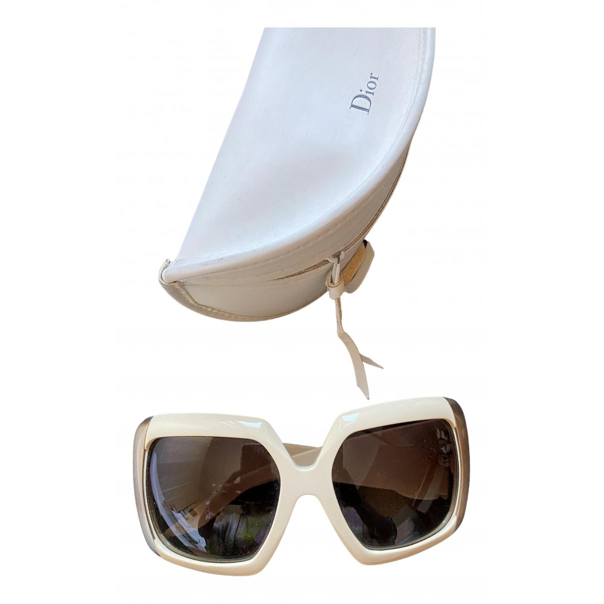 Dior \N Sonnenbrillen in  Weiss Kunststoff