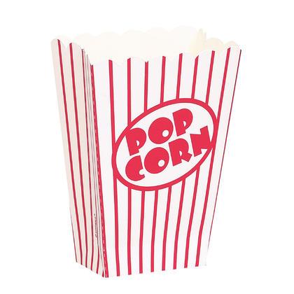 Small Popcorn Boxes, 8ct Pour la fête d'anniversaire