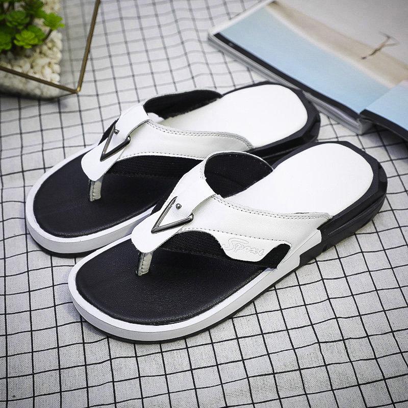 Men Clip Toe Comfy Soft Sole Water Friendly Casual Flip Flops