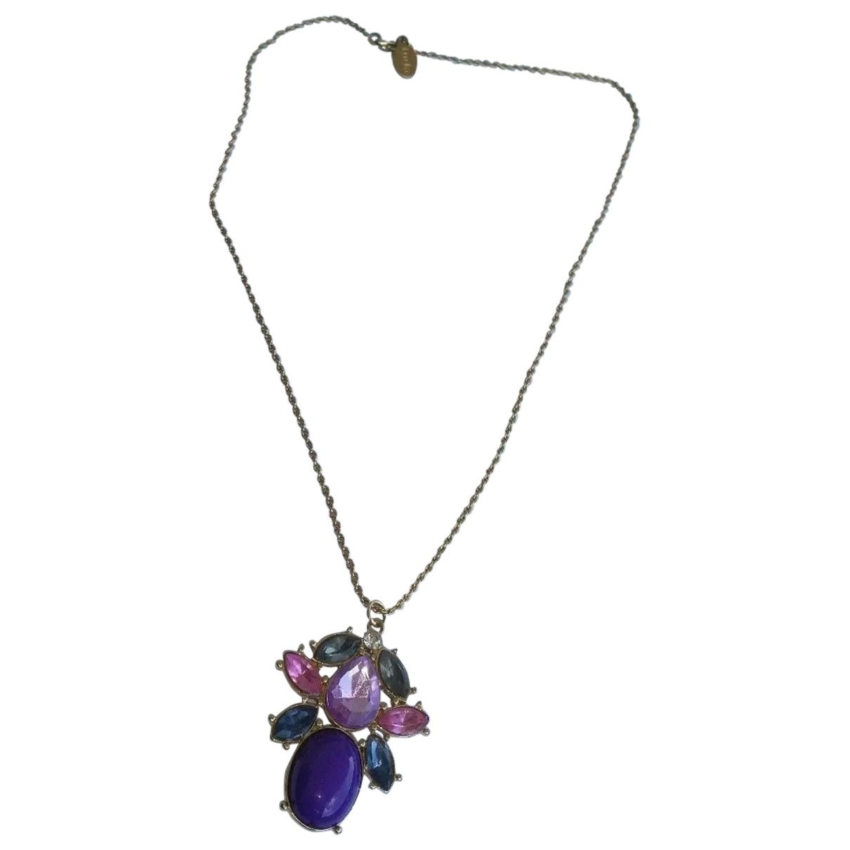 Furla \N Gold Metal necklace for Women \N