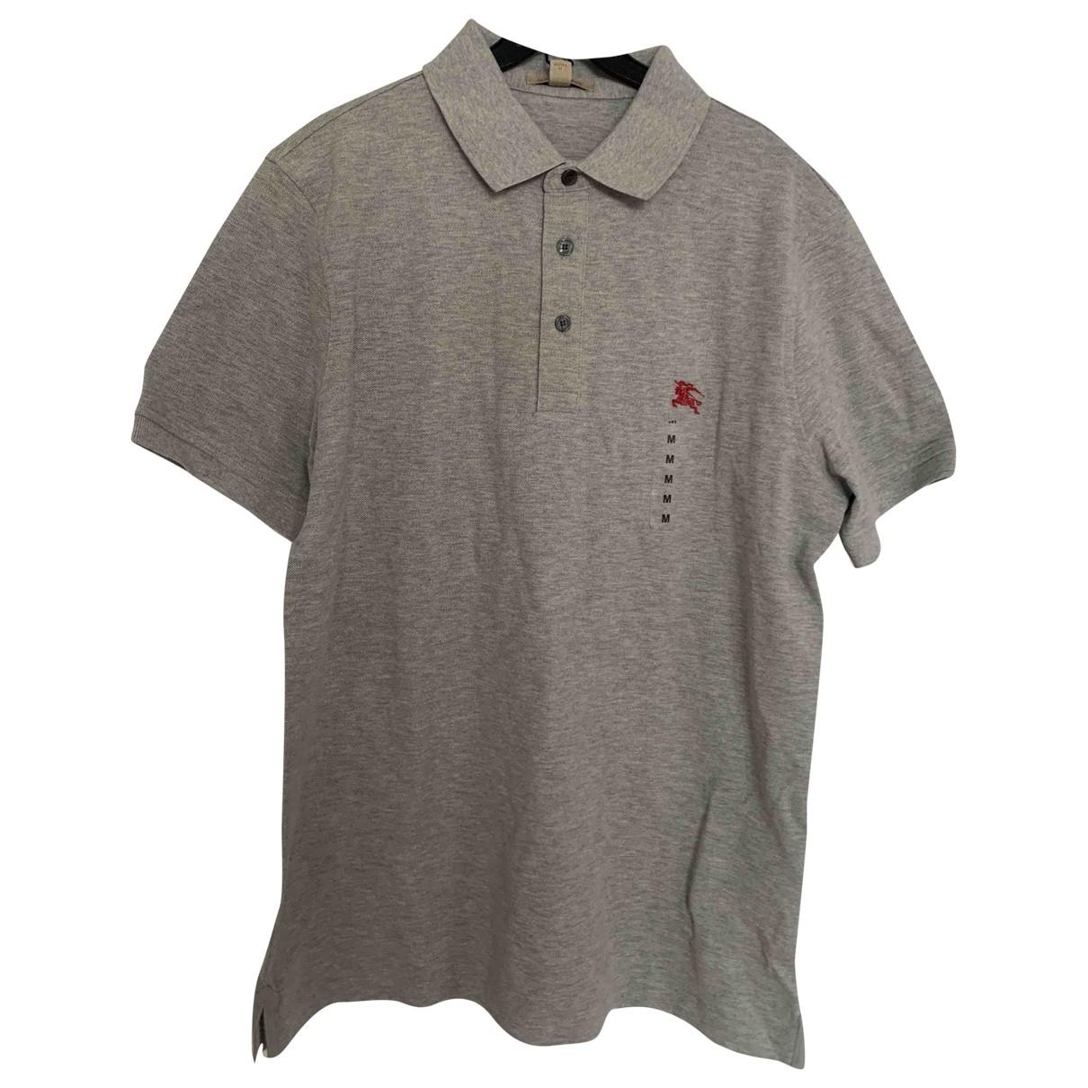 Burberry \N Poloshirts in  Grau Baumwolle