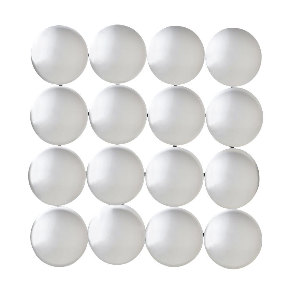 Set aus 16 miteinander verbundenen Konvex-Spiegeln 100x100
