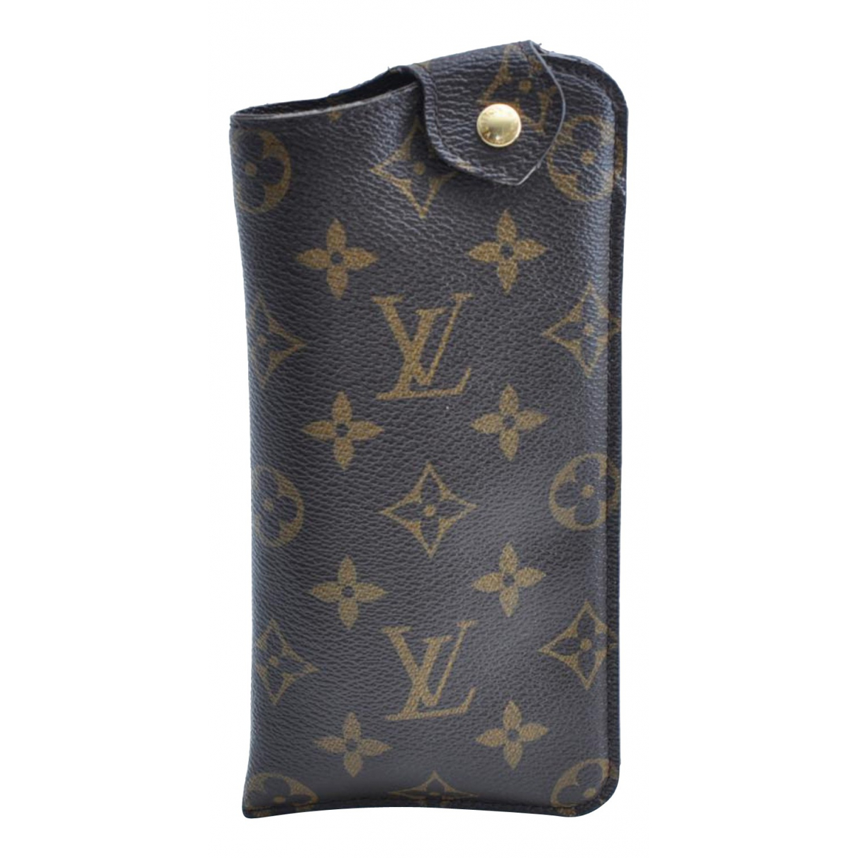 Louis Vuitton \N Kleinlederwaren in  Braun Leinen