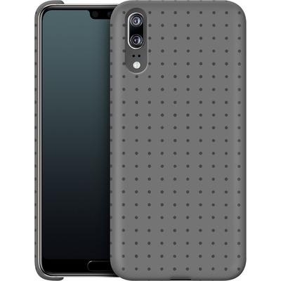 Huawei P20 Smartphone Huelle - Dot Grid Grey von caseable Designs