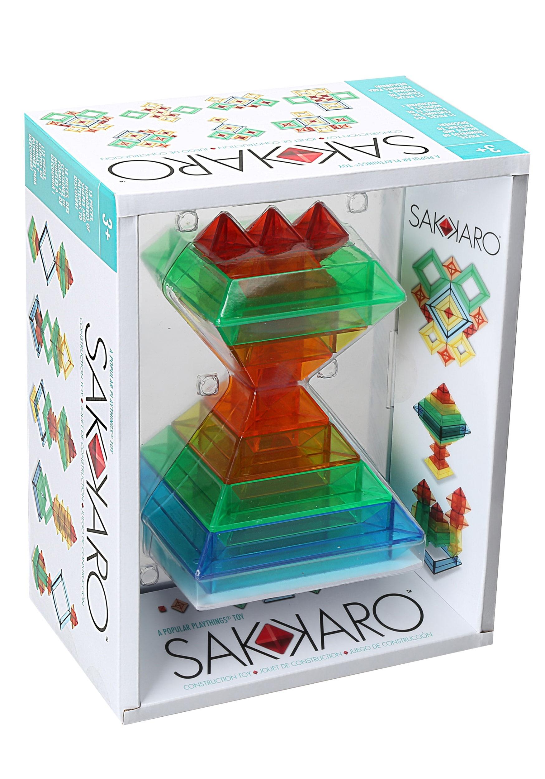 Popular Playthings Sakkaro Geomerty Set