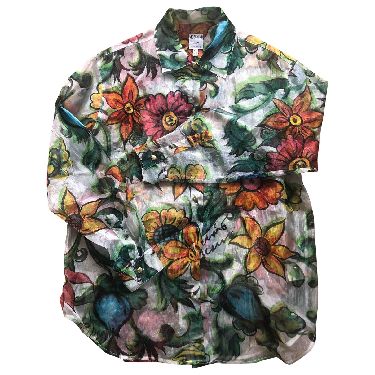 Camisa de Seda Moschino Love