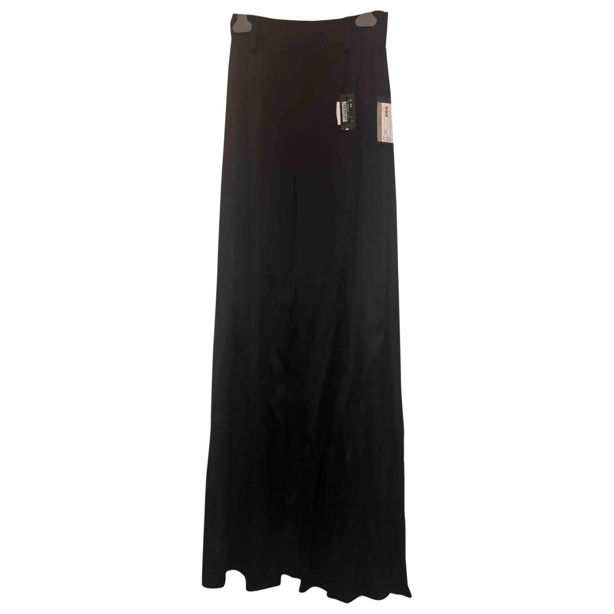 Falda maxi de Seda Prada