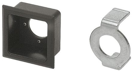 EAO Push Button Bezel for use with Square Lens Switch