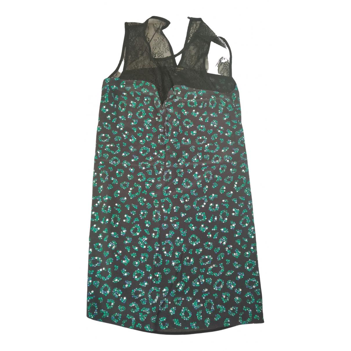 Juicy Couture \N Kleid in  Schwarz Baumwolle