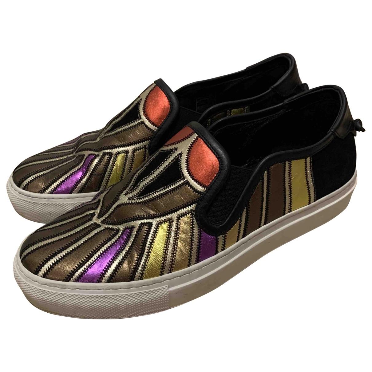 Givenchy - Baskets   pour femme en cuir - multicolore