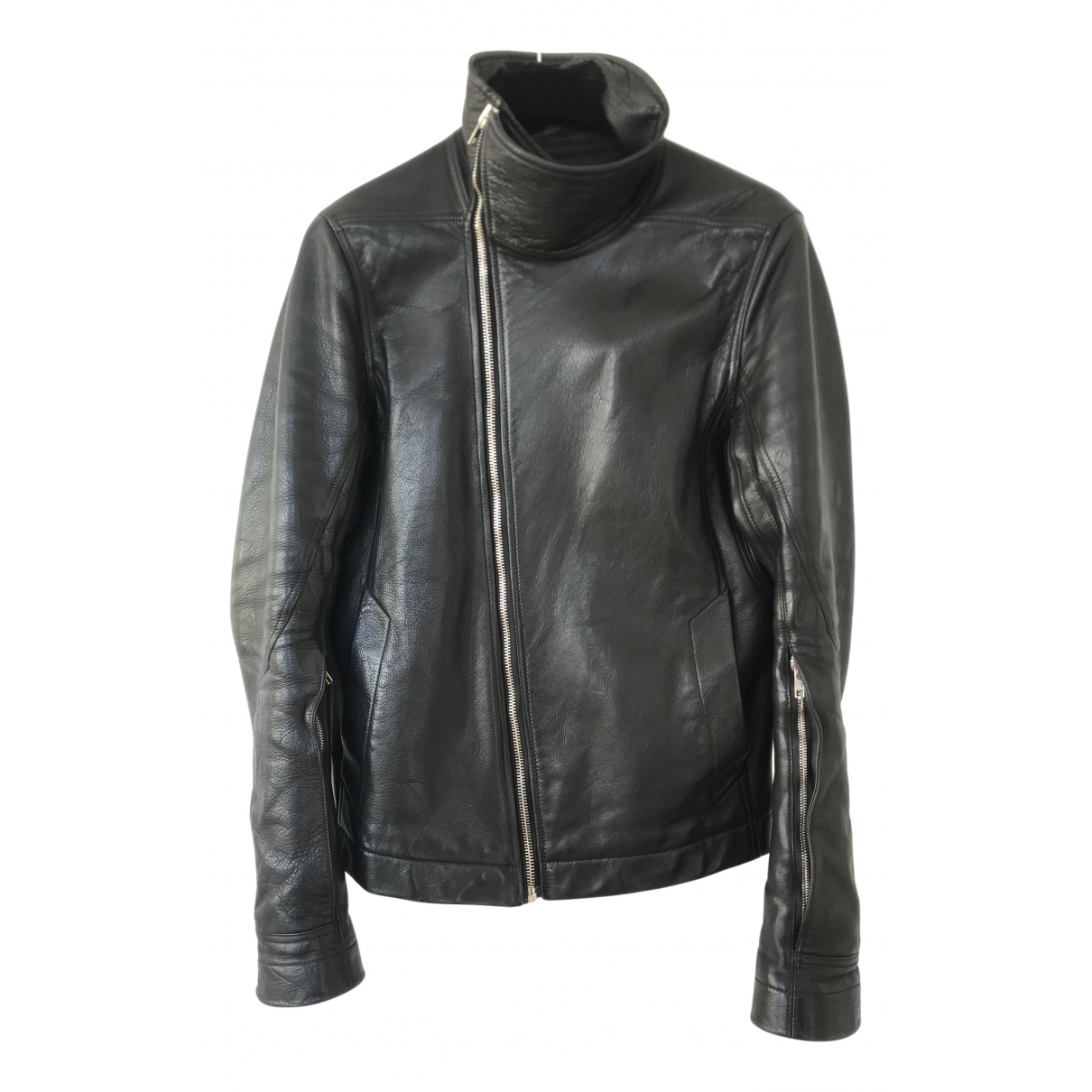 Rick Owens \N Black Leather jacket  for Men L International