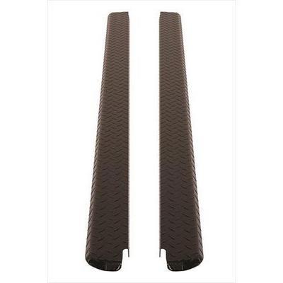 Dee-Zee Black-Tread Side Bed Caps - DZ11998B