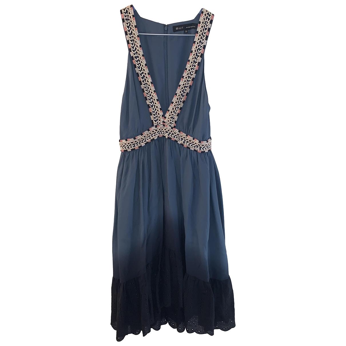 Barbara Bui \N Kleid in  Blau Seide