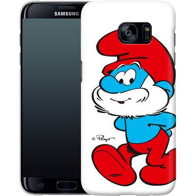 Samsung Galaxy S7 Edge Smartphone Huelle - Papa Smurf von The Smurfs