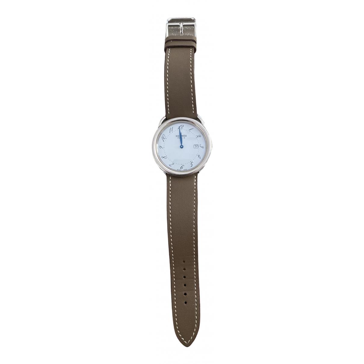 Hermès Arceau Leather watch for Women \N