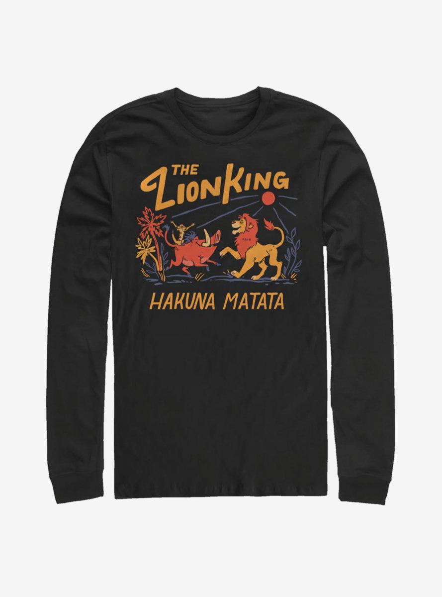 Disney The Lion King Hakuna Matata Sunrise Long-Sleeve T-Shirt