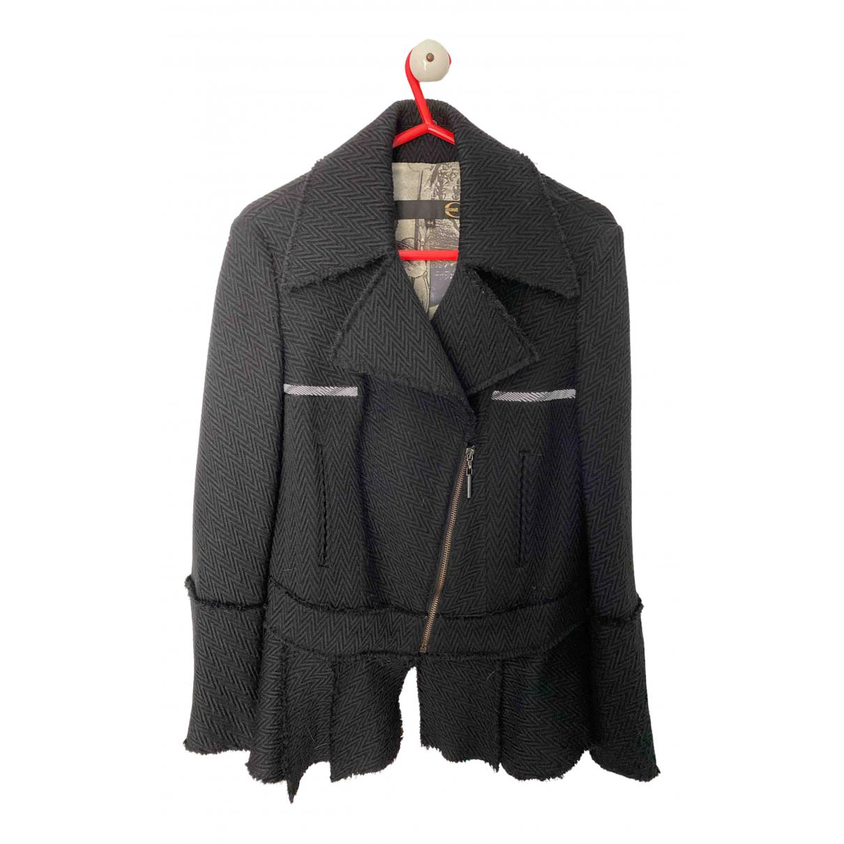 Just Cavalli - Veste   pour femme en laine - noir