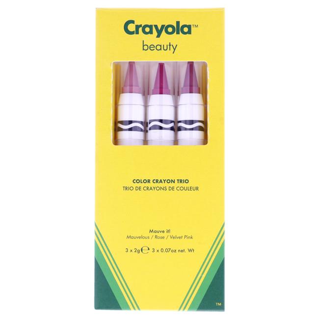 Color Crayon Trio - Mauve It