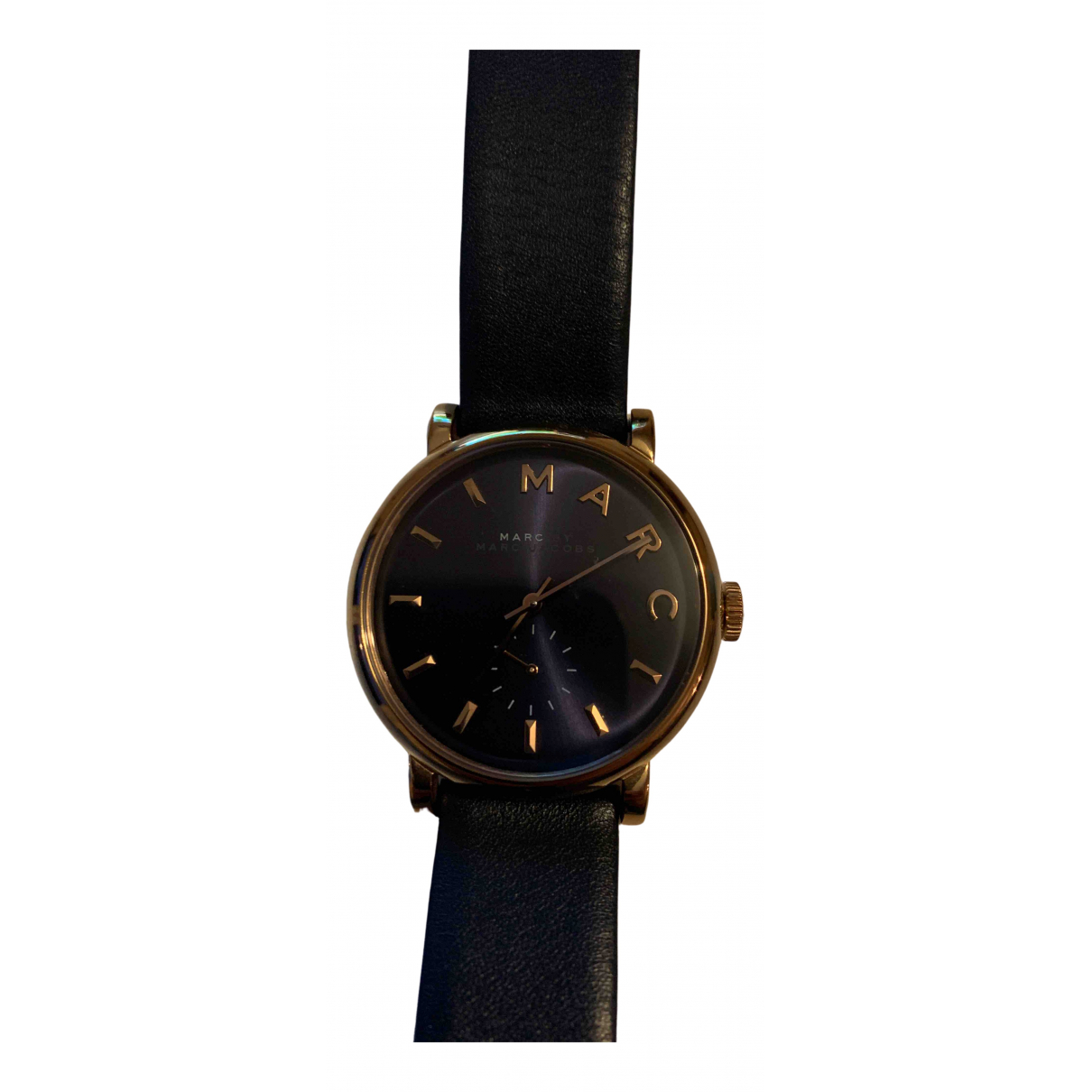 Marc By Marc Jacobs \N Uhr in  Blau Rosegold