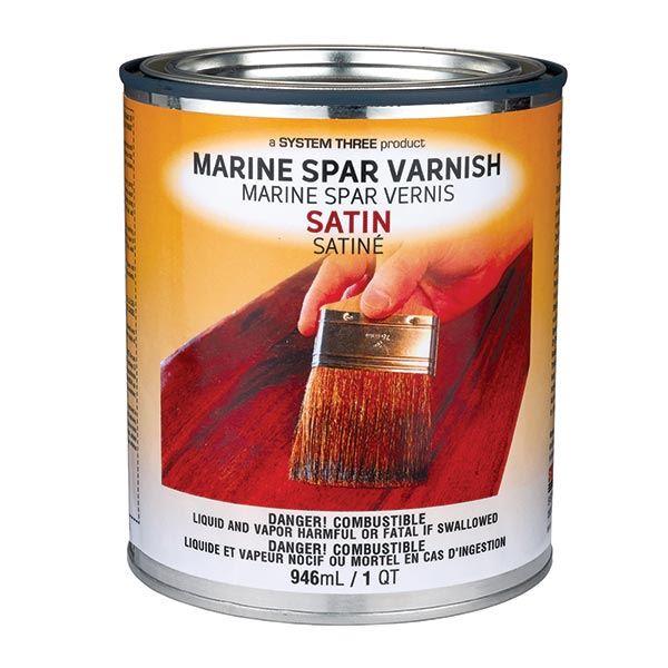Satin Spar Urethane Varnish Quart