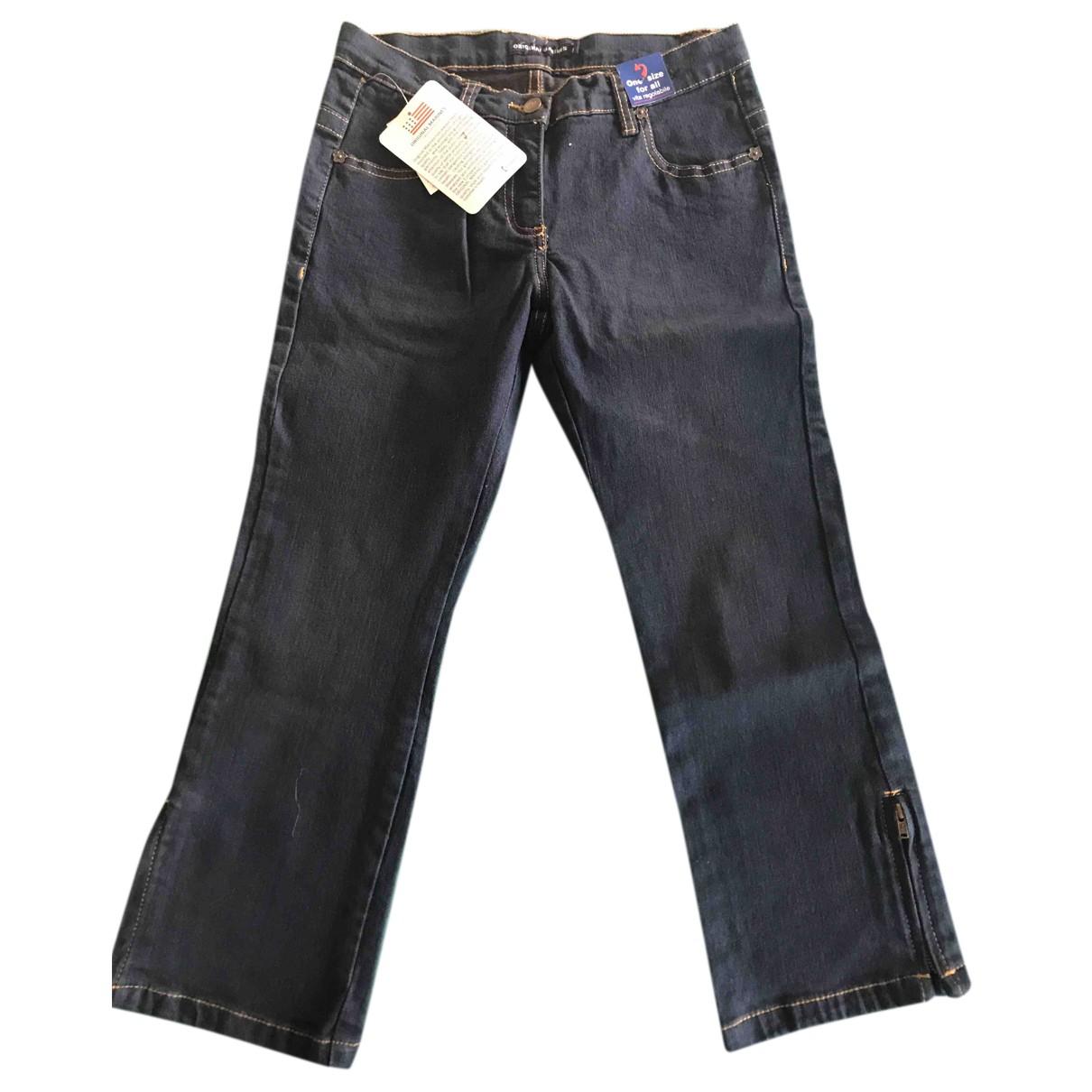 Autre Marque - Pantalon   pour enfant en coton - bleu