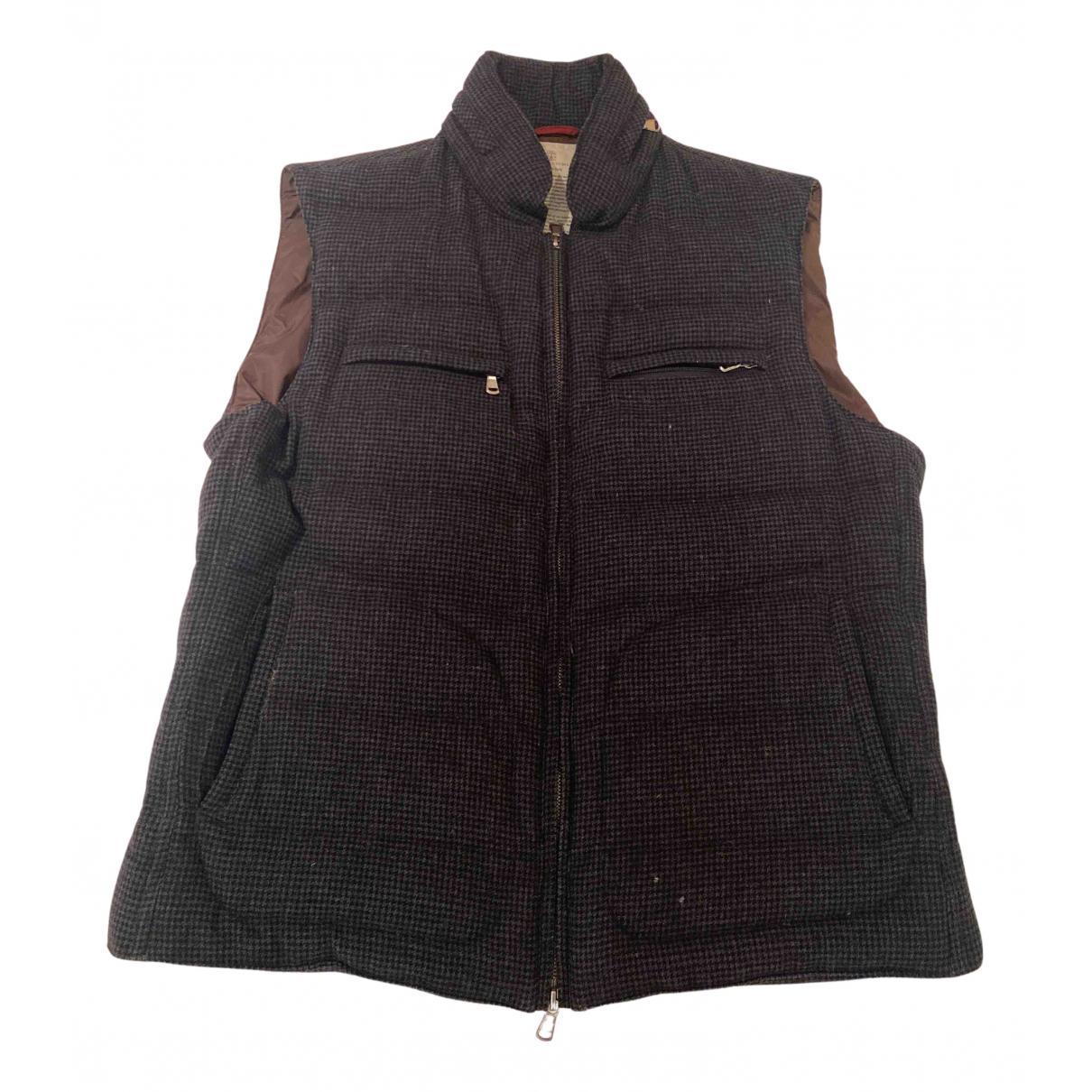 Brunello Cucinelli N Grey Wool jacket  for Men L International